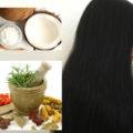 diy Hair Oil for black and shiny hair