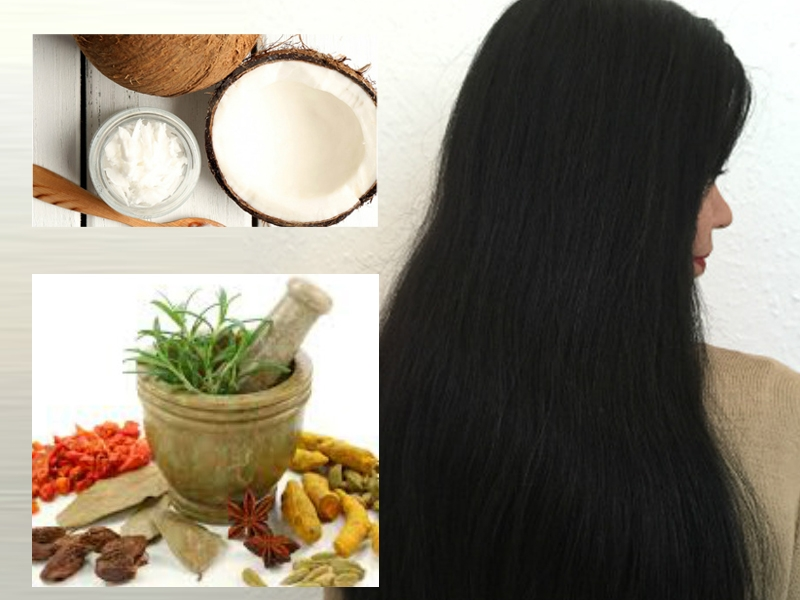 diy Hair Oil for black and shiny hair