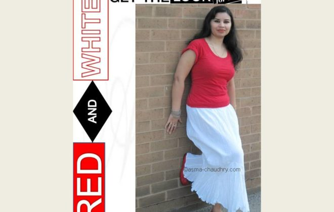 OOTD Red and White: The Perfect Summer Combination | Asmaa Fashion & Style
