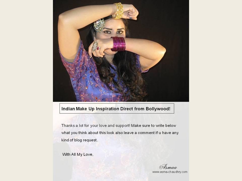 Get Ready With Me: Dedh Ishqiya Madhuri Inspired Make up |Asmaa Chaudhry